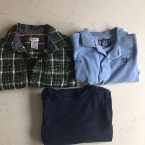 2T boy shirt bundle